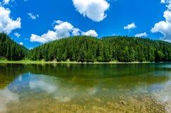 Lago Synevyr Fotografía de archivo libre de regalías