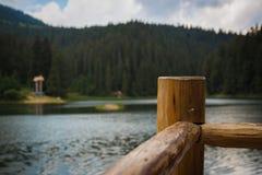 Lago Synevyr Fotografia Stock