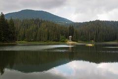 Lago Synevyr Foto de archivo libre de regalías