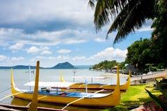 Lago Taal fotos de stock royalty free