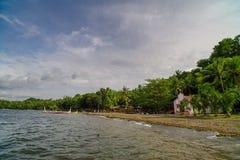 Lago Taal Imagem de Stock