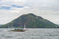 Lago Taal Fotografia de Stock