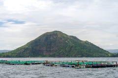 Lago Taal Fotos de Stock