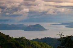 Lago Taal imagens de stock
