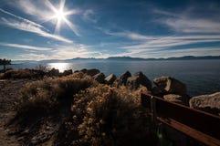 Lago Tahoe Fotografia Stock Libera da Diritti