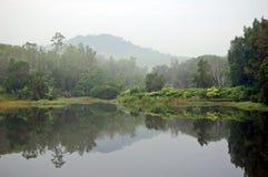 Lago tailandese Fotografie Stock