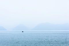 Lago Taiping por la mañana Foto de archivo libre de regalías