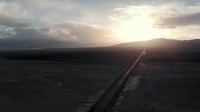 Lago Tajiquistão Karakul Estrada de M41 Pamir, tiro regional de Dron filme