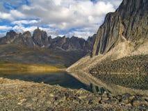 Lago talus Fotos de archivo