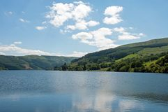 Lago Talybont en el verano Fotos de archivo