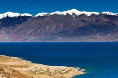 Lago Tangra Yumco Foto de Stock Royalty Free