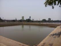 Lago tank de Sankey em Bangalore fotografia de stock royalty free