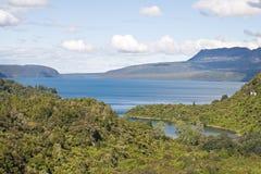 Lago Tarawera Imagen de archivo