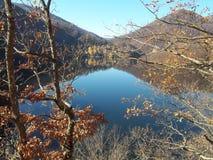 Lago Tarnita, Cluj, la Transilvania, Romania Fotografia Stock