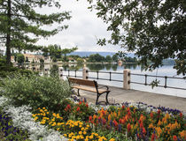 Lago tata Ungheria Europa vecchio Fotografie Stock