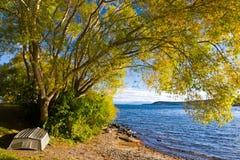 Lago Taupo foto de archivo libre de regalías