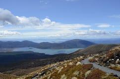 Lago Taupo fotos de stock royalty free