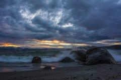 Lago Taupo Fotografía de archivo