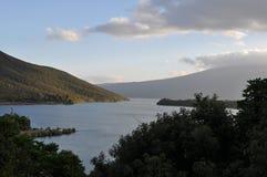 Lago Taupo Imagens de Stock