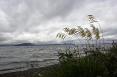 Lago Taupo, Nueva Zelanda Fotos de archivo