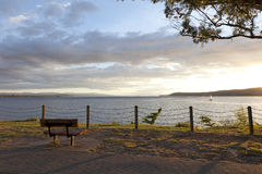Lago Taupo Nuova Zelanda Immagini Stock Libere da Diritti