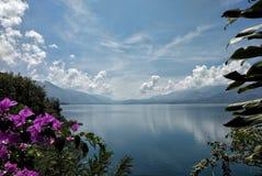 Lago tawar Laut Foto de archivo libre de regalías