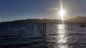 Lago Te Anau Foto de archivo libre de regalías