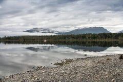 Lago Te Anau Imagen de archivo