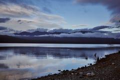 Lago Te Anau New Zealand immagini stock