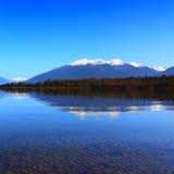 Lago Te Anau reflection Fotos de archivo