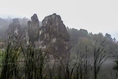 Lago tedesco di autunno della natura Immagine Stock