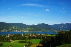 Lago Tegernsee Immagine Stock