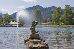 Lago Tegernsee Fotografia Stock