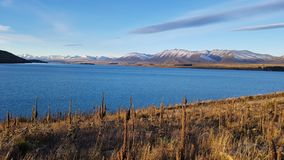 Lago Tekapo imagem de stock royalty free
