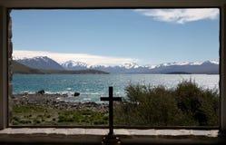 Lago Tekapo Imagen de archivo libre de regalías