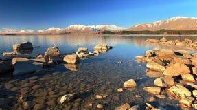 Lago Tekapo Foto de archivo
