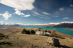Lago Tekapo Fotografia Stock Libera da Diritti