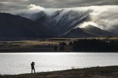 Lago Tekapo Imagens de Stock Royalty Free