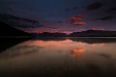 Lago Tekapo fotografía de archivo