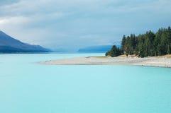 Lago Tekapo - isla del sur Fotos de archivo libres de regalías