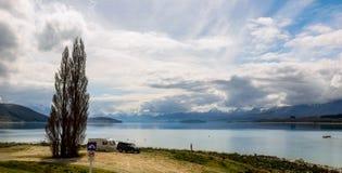 Lago Tekapo, isola del sud, Nuova Zelanda Immagini Stock
