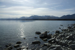 Lago Tekapo Lanscape Fotografia de Stock Royalty Free