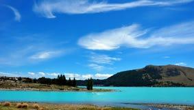 Lago Tekapo. Nova Zelândia Fotos de Stock