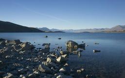 Lago Tekapo, Nova Zelândia Fotografia de Stock