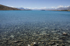 Lago Tekapo Nueva Zelandia imagenes de archivo