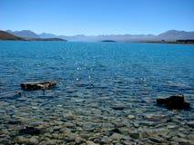 Lago Tekapo, Nuova Zelanda Fotografia Stock