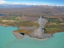 Lago Tekapo, Nuova Zelanda Fotografie Stock Libere da Diritti