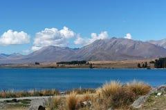 Lago Tekapo, Nuova Zelanda Immagini Stock Libere da Diritti