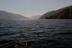 Lago Teletskoye Imagem de Stock