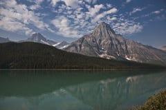 Lago temple - parque nacional del jaspe Foto de archivo libre de regalías